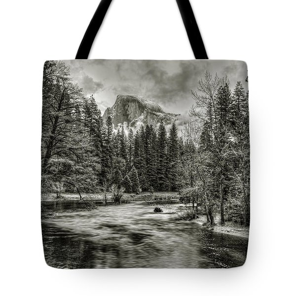 Ascending Clouds Toned Tote Bag