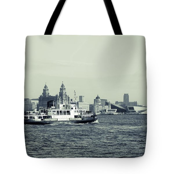 Mersey Ferry Tote Bag