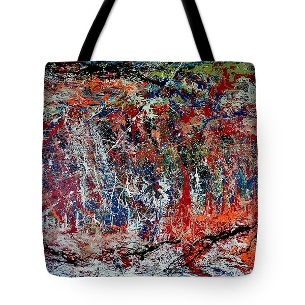 Nature Walk In The Yakima Delta Tote Bag by Lisa Kaiser