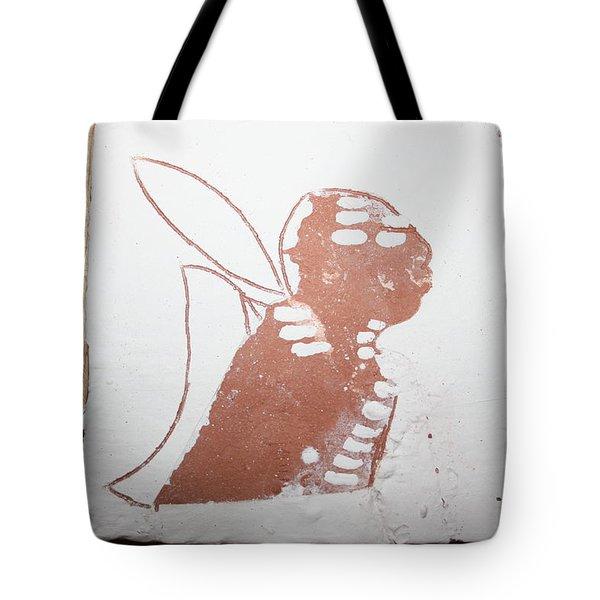 Micah - Tile Tote Bag by Gloria Ssali