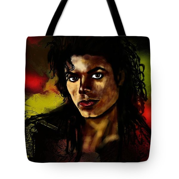 Michael Tote Bag by Francoise Dugourd-Caput