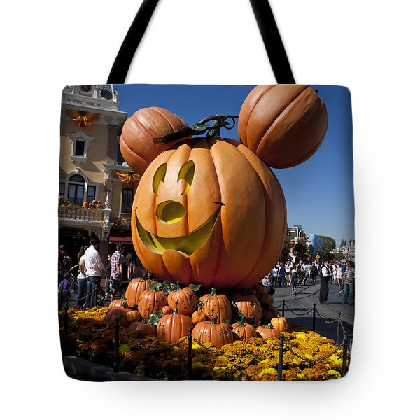 Mickey Mouse Halloween Disneyland Tote Bag