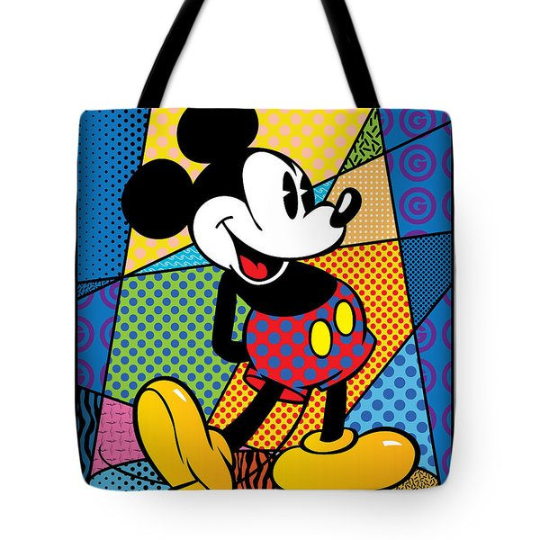Mickey Spotlight Tote Bag