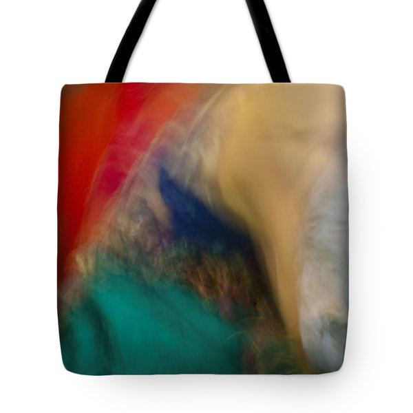 Tote Bag featuring the photograph Mideastern Dancing by Catherine Sobredo