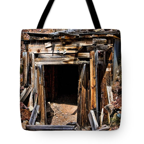 Midwest Mine Shaft Tote Bag