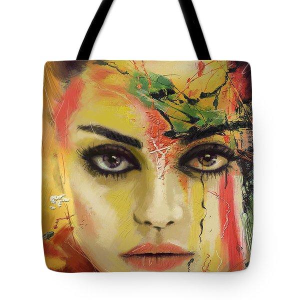 Mila Kunis  Tote Bag by Corporate Art Task Force