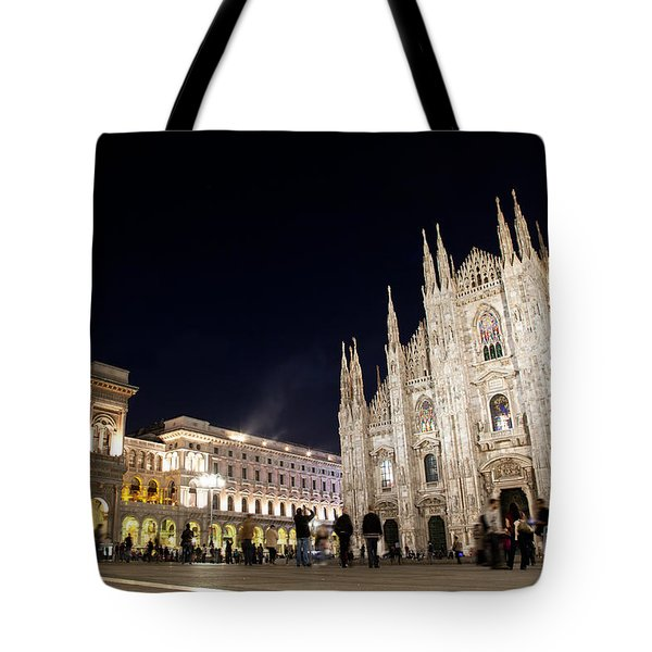 Milan Cathedral Vittorio Emanuele II Gallery Italy Tote Bag