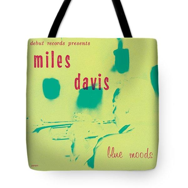 Miles Davis -  Blue Moods Tote Bag