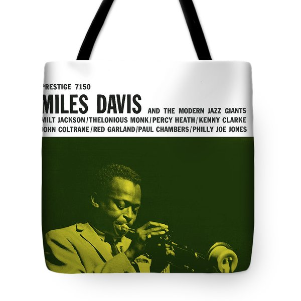 Miles Davis -  Miles Davis And The Modern Jazz Giants (prestige 7150) Tote Bag