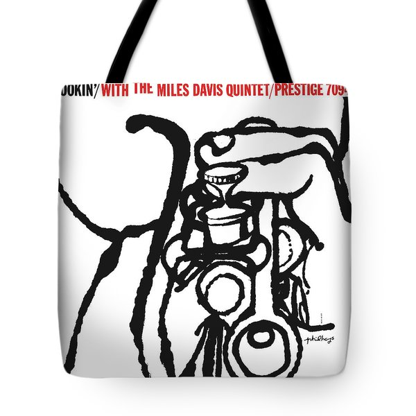Miles Davis Quintet -  Cookin' With The Miles Davis Quintet Tote Bag