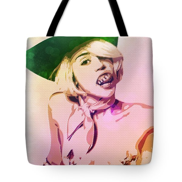 Miley Cyrus Tote Bag