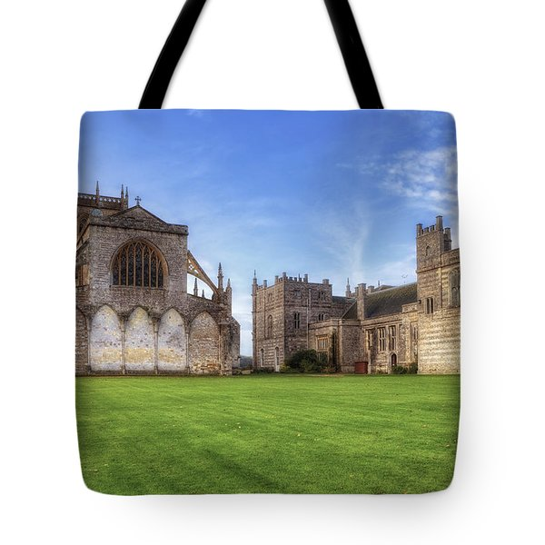 Milton Abbey Tote Bag by Joana Kruse