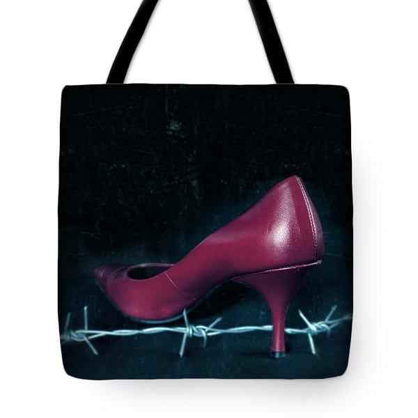 Mind Your Steps Tote Bag by Joana Kruse