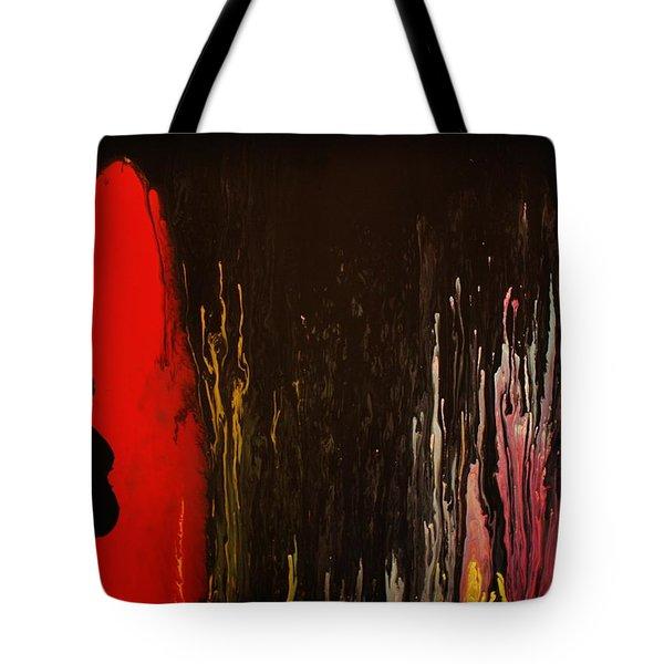 Mingus Tote Bag by Michael Cross