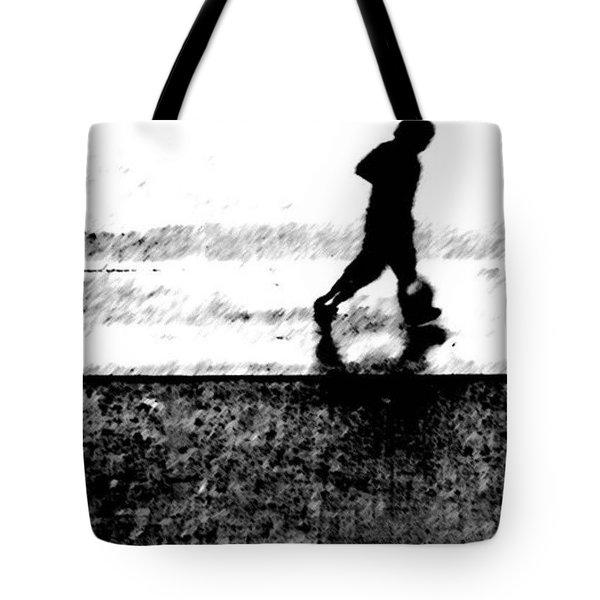 Walking In The Rain 2 Tote Bag
