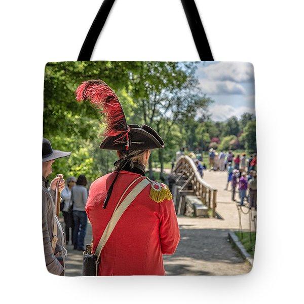Minute Man National Historical Park Tote Bag