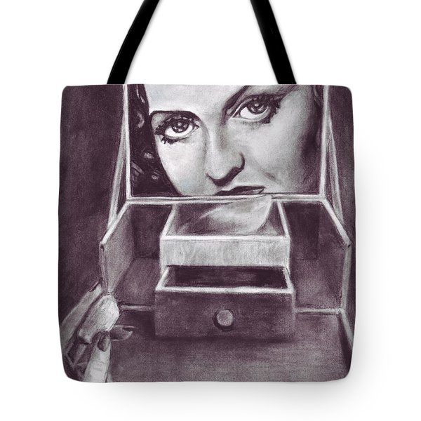 1 Minute Miss Davis Tote Bag