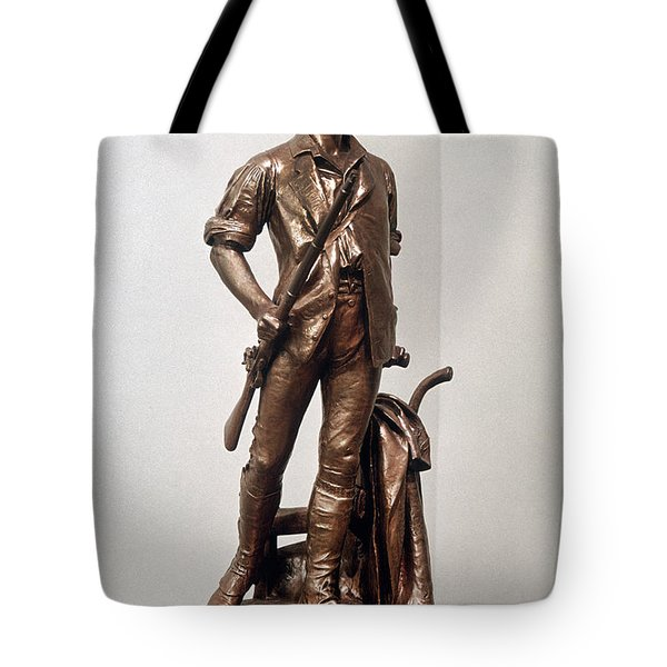 Minutemen Soldier Tote Bag by Granger