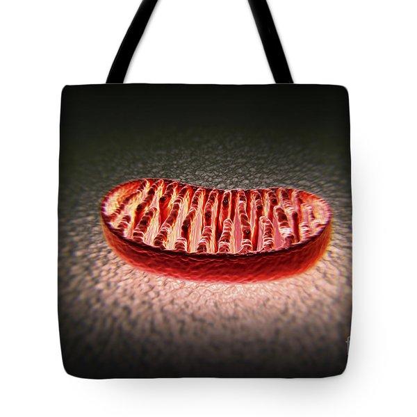 Mitochondria Cut Tote Bag