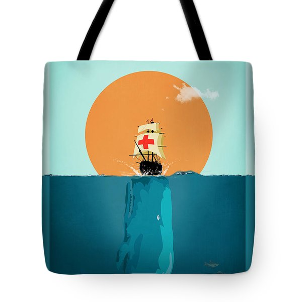 Moby  Tote Bag by Mark Ashkenazi