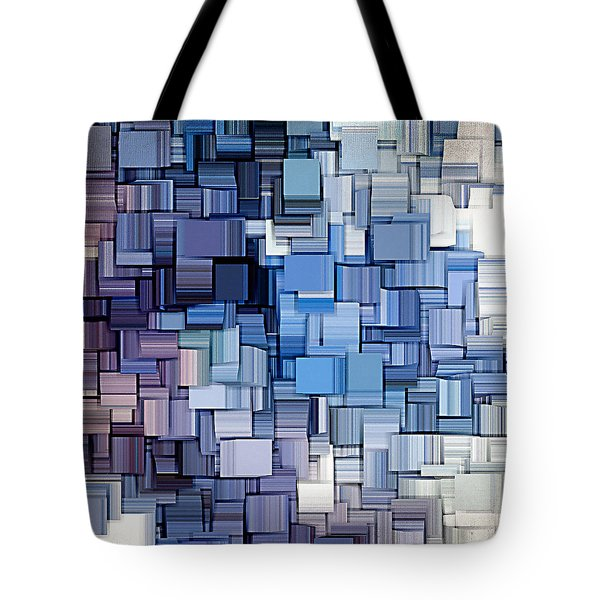 Modern Abstract Vi Tote Bag by Lourry Legarde