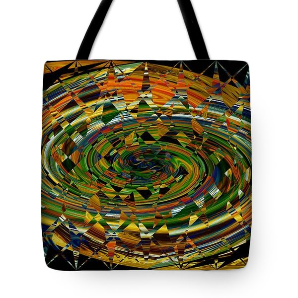 Tote Bag featuring the digital art Modern Art I by rd Erickson