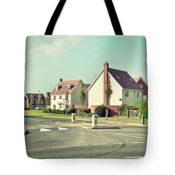Modern Houses Tote Bag