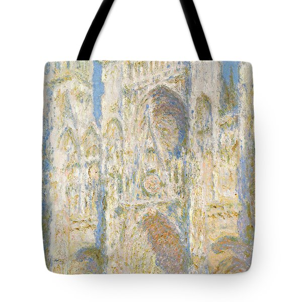 Monet Rouen Cathedral Tote Bag