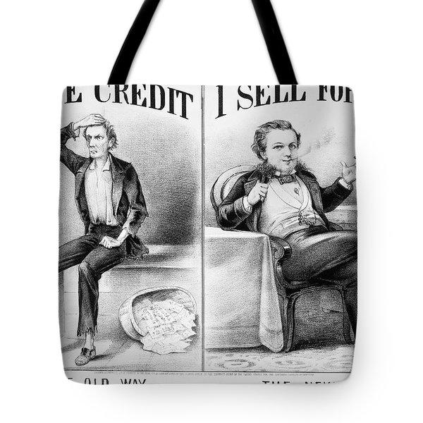 Money Lending, 1870 Tote Bag