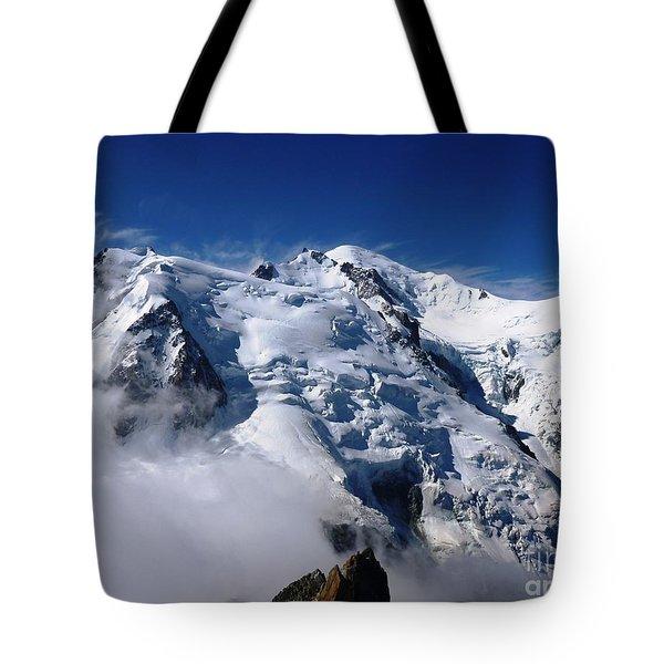 Mont Blanc - France Tote Bag