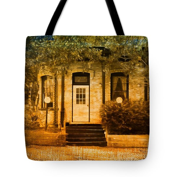 Montpelier Place Tote Bag by Deborah Benoit