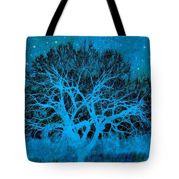 Mood Indigo Tote Bag by Ann Powell