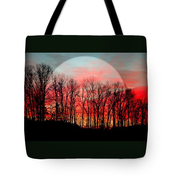 Moon Dance Tote Bag