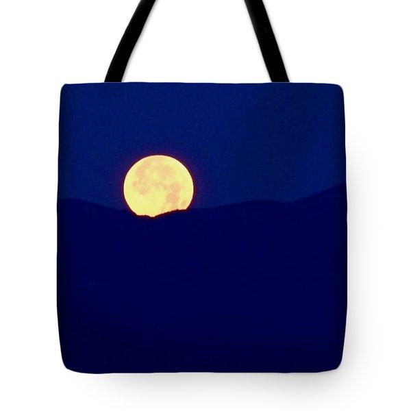 Moonset Tote Bag by Rona Black