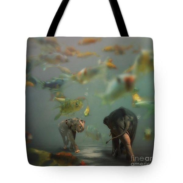 Mornin' Tote Bag by Martine Roch