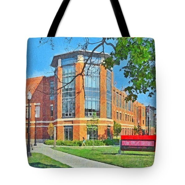 Morning On The First Day Of Classes. Student Union. The Ohio State University Tote Bag