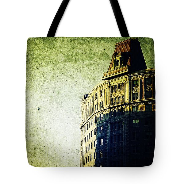 Morningside Heights Green Tote Bag by Natasha Marco