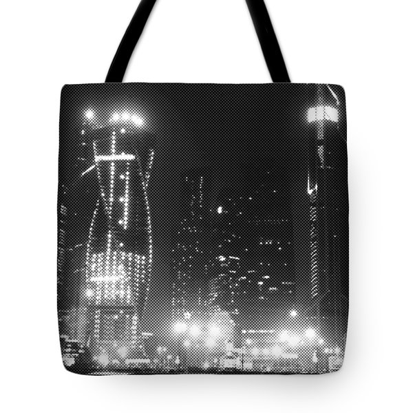 Moscow At Night  Tote Bag