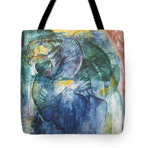 Mother And Child Tote Bag by Diana Bursztein