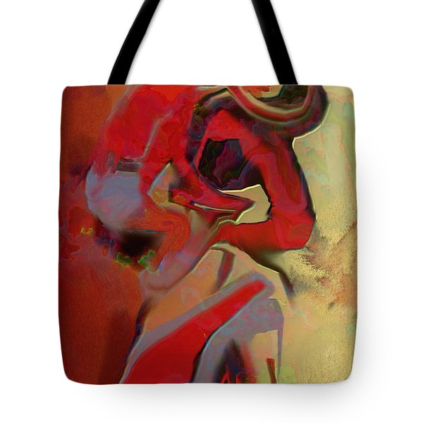 Mother And Child Tote Bag by Nedunseralathan R