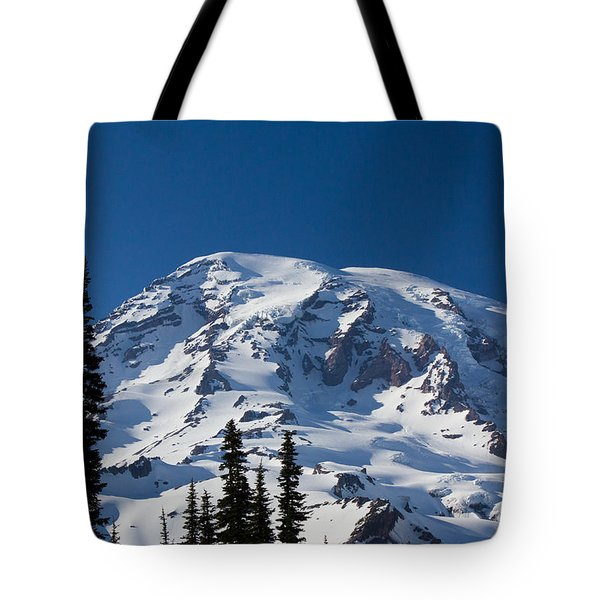 Mount Ranier Tote Bag