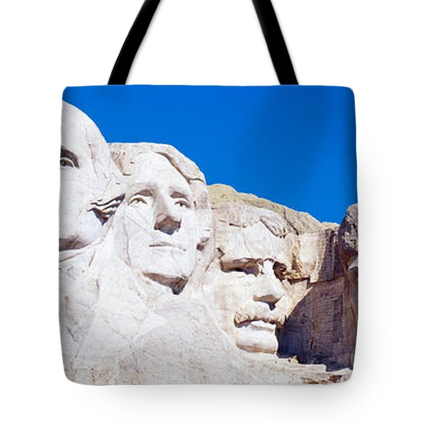 Mount Rushmore, South Dakota, Usa Tote Bag by Panoramic Images