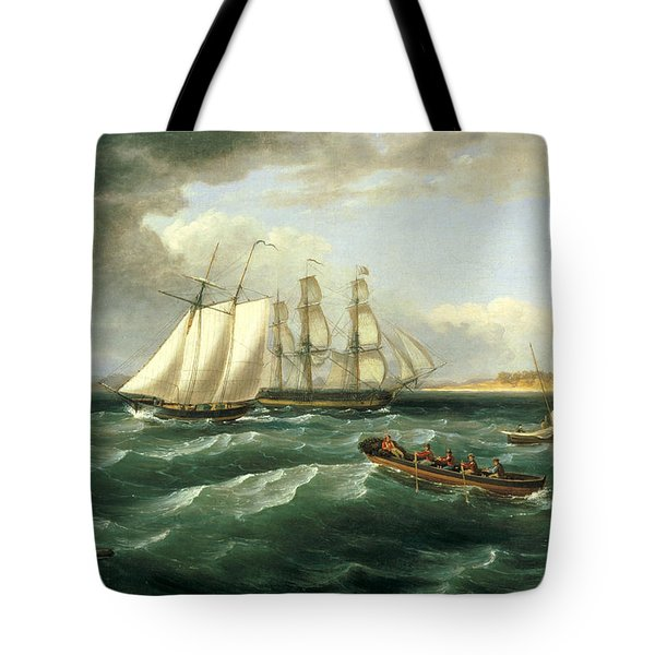 Mouth Of The Delaware Tote Bag
