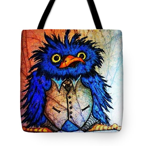 Mr Blue Bird Tote Bag