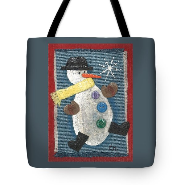 Mr. Snowjangles Tote Bag