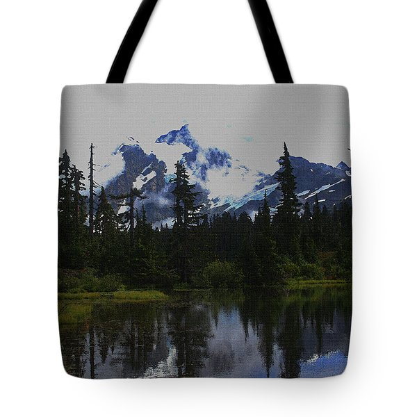 Mt Baker Washington  Tote Bag by Tom Janca