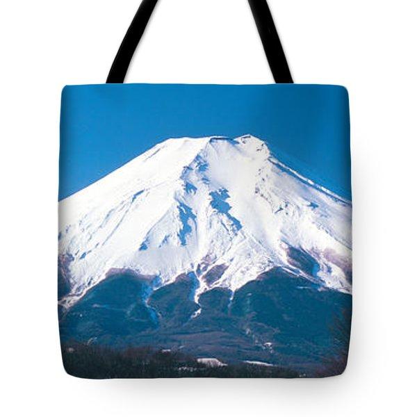Mt Fuji Yamanashi Japan Tote Bag