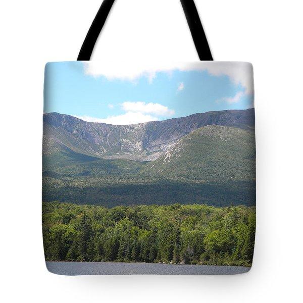 Mt. Katahdin Tote Bag by James Petersen