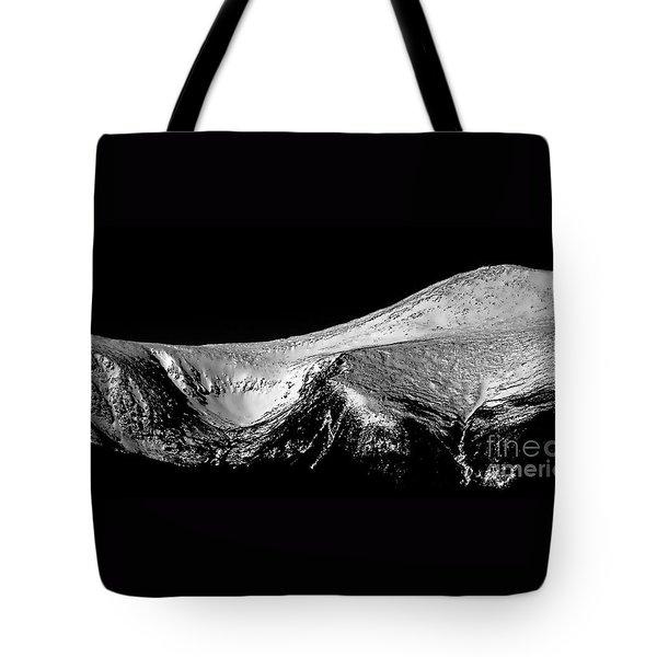Mt Washington And Tuckerman Ravine Tote Bag by Sharon Seaward