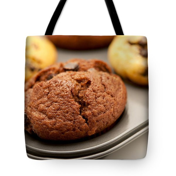 Tote Bag featuring the photograph Muffins by Fabrizio Troiani